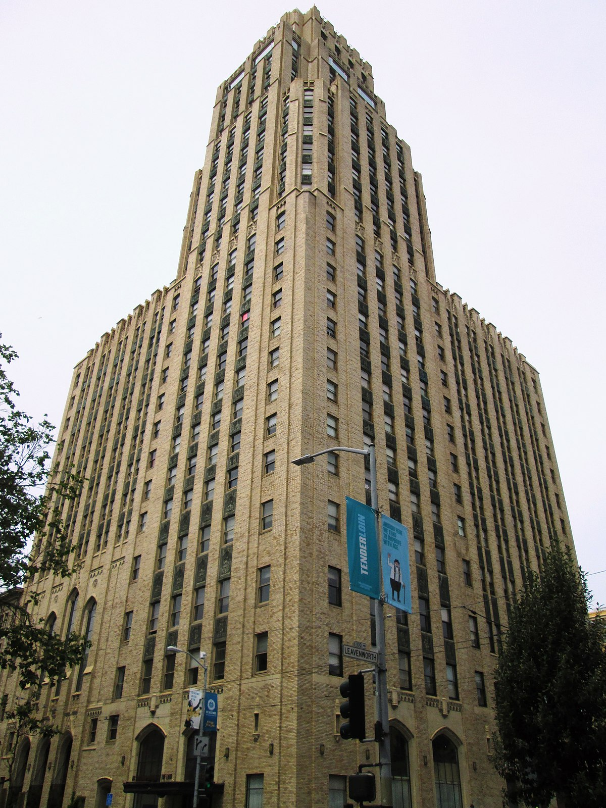 Mcallister Tower Apartments Wikipedia