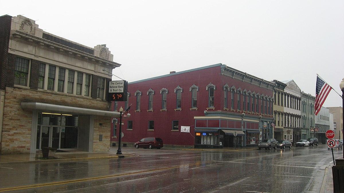 Attica Downtown Historic District Wikipedia