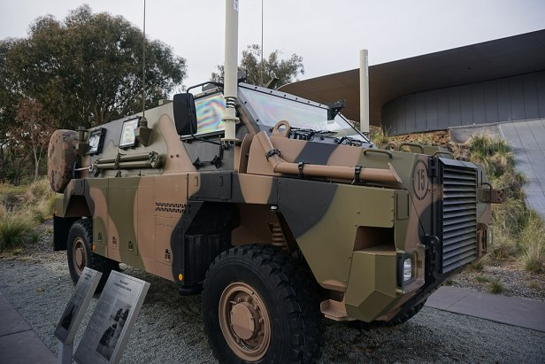 Australian War Memorial - Joy of Museums - Bushmaster Protected Mobility Vehicle