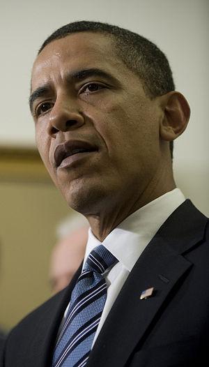 President Barack Obama addresses the media Jan...