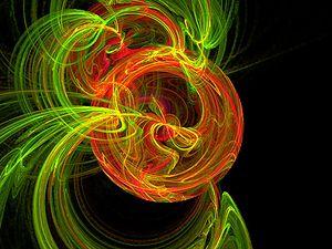 Cosmic twirl