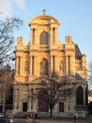 Facade of the church Saint-Gervais_Saint-Prota...