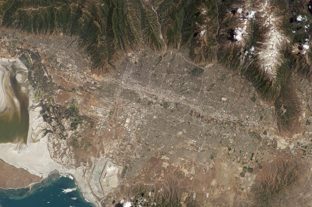 Geography Of Salt Lake City Wikipedia