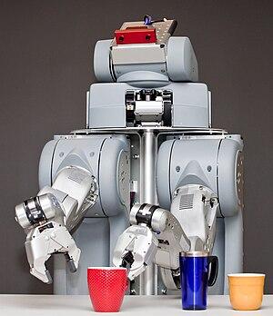 Illustration of the PR2 robot