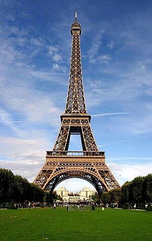 Deutsch: Eiffelturm Français : La tour Eiffel