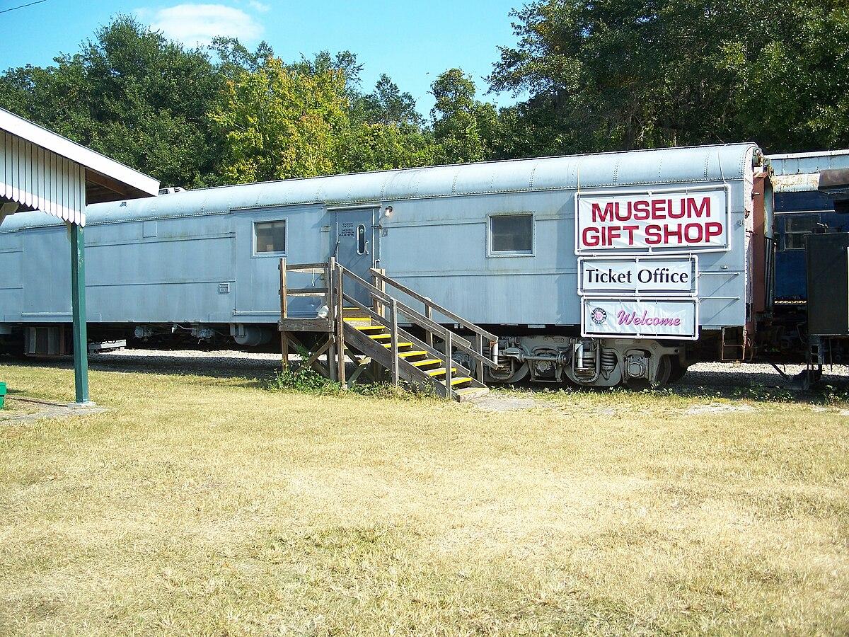 Museum Florida Railroad Parrish