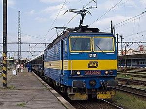 Locomotive Class 363, Orient Express, Praha-Sm...
