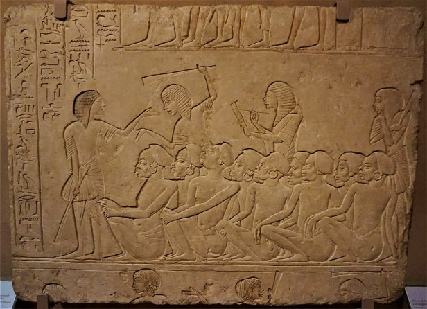 Relief of Horemheb with Nubian Prisoners - Joy of Museums - The Archaeological Civic Museum of Bologna