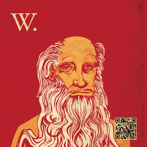 English: A graphic personification of Wisdom Q...
