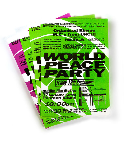 Fileworld Peace Party Flyer Jpg