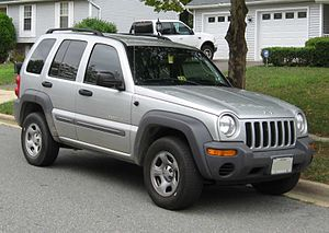 2002-2004 Jeep Liberty photographed in USA.