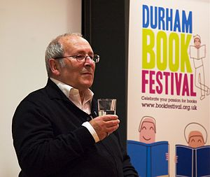 Arnold Wesker at the Durham Book Festival, 24 ...
