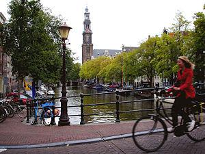 Cycling en Amsterdam