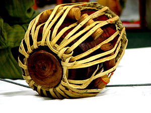 the tabla is a common drum used in classical I...
