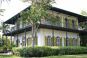 Ernest Hemingway's house- Key West, FL