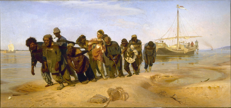 Volga Barge Haulers Meaning