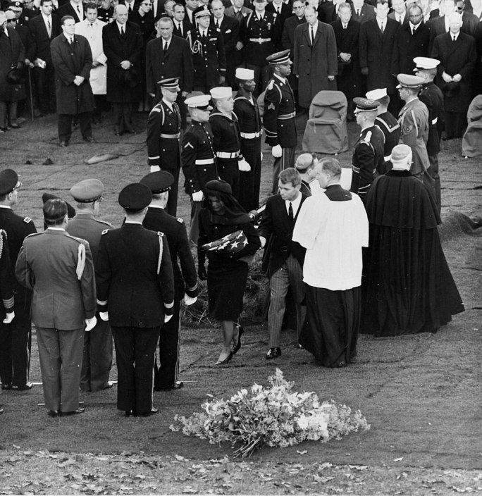 JFK Funeral and temporary grave November 25 1963