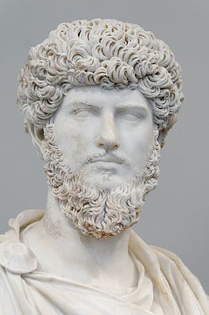 Portrait of co-emperor Lucius Verus (type IV)....