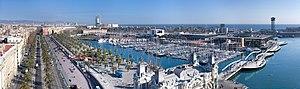 Català: Port Vell, Port de Barcelona. English:...
