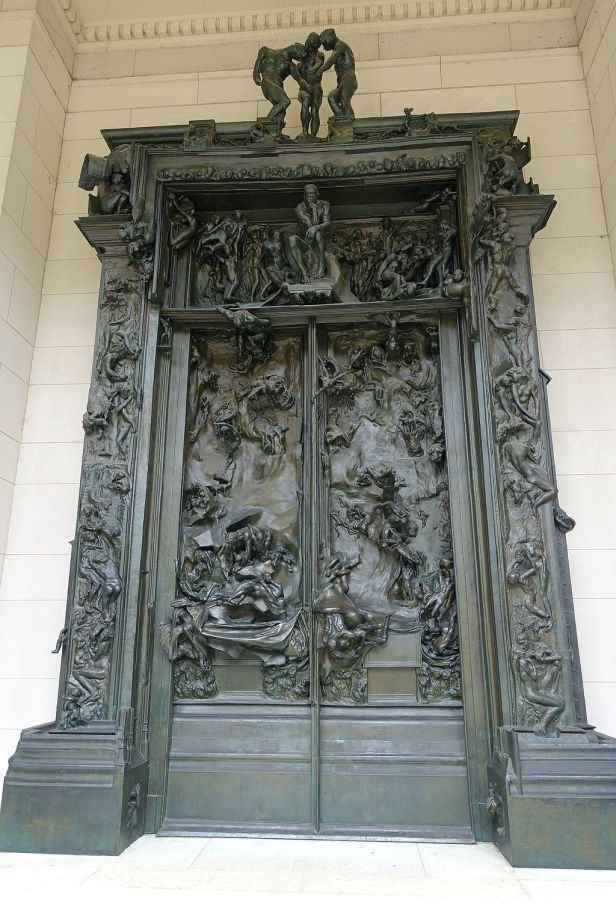 """The Gates of Hell"" by Auguste Rodin"
