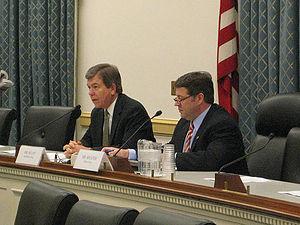 English: Congressmen Bill Shuster and Roy Blun...