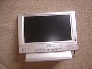 tela LCD portatíl.