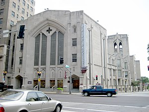 English: Third Baptist Church, St. Louis, Miss...