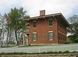 The home of President U.S. Grant in Galena, Il...