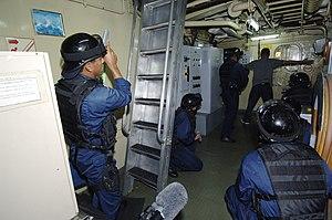English: Carribean Sea (Aug. 26, 2006) –...