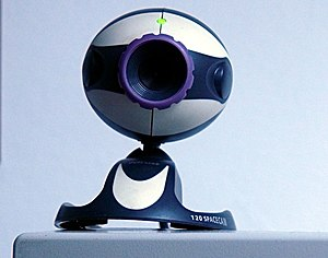 A Trust 120 SpaceCam webcam