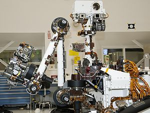 Arm and Mast of NASA Mars Rover Curiosity 5339...