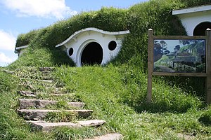 Bag End, as used in the Lord of the Rings films.