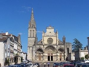 Cathedral of Bazas (Gironde, France) Italiano:...