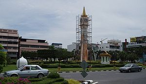 The Clocktower in Kota Bharu