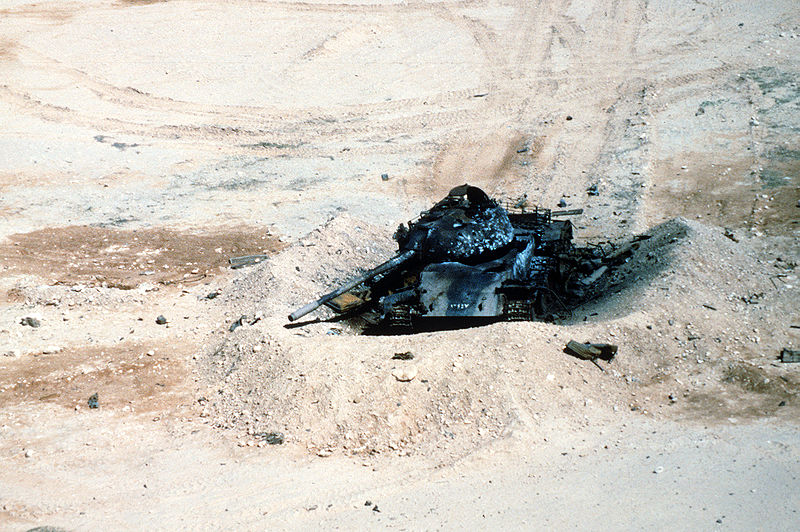 File:Destroyed Iraqi T-54A or Type 59.JPEG