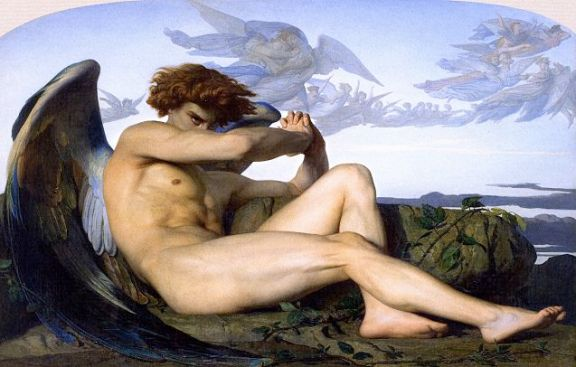 The Fallen Angel by Alexandre Cabanel