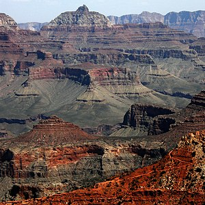 Grand Canyon, from South Rim near Visitor Center