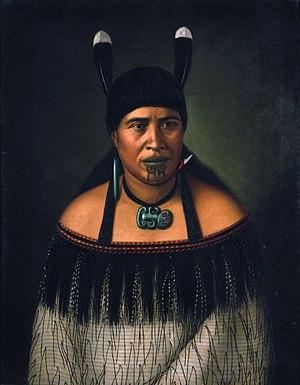Hinepare, a woman of the Ngāti Kahungunu tribe...