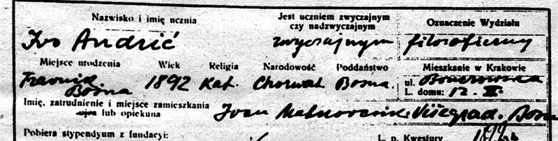 File:Ivo Andric declaring himself as Croat.jpg