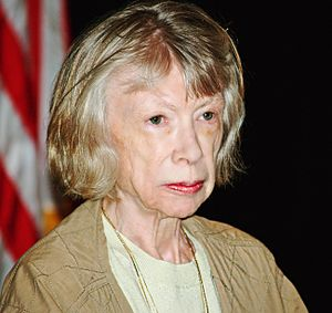 Joan Didion at the 2008 Brooklyn Book Festival...