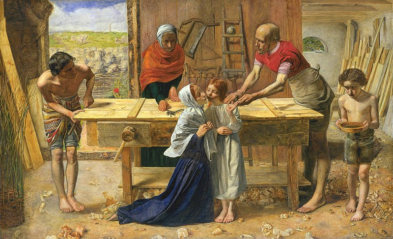File:John Everett Millais - Christ in the House of His Parents (`The Carpenter's Shop') - Google Art Project.jpg
