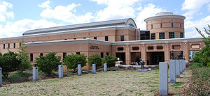 Photograph of the Student Center located on th...