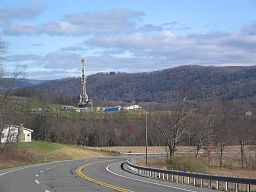 Marcellus Shale Gas Drilling Tower 1