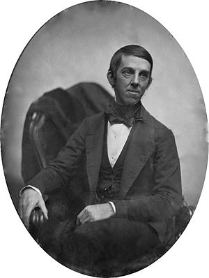English: Daguerreotype of Oliver Wendell Holme...