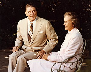 President Reagan and his Supreme Court Justice...