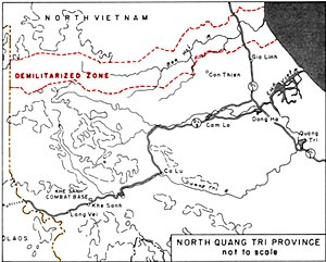 Quang Tri Province and the DMZ.