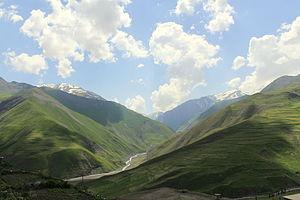 English: Quba area, Azerbaijan.
