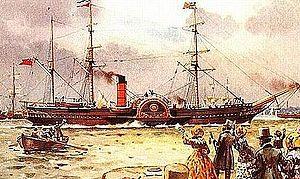 RMS Britannia (1840) Built by: Robert Duncan, ...