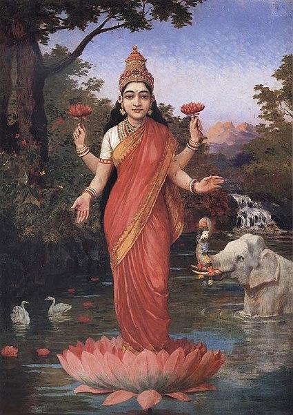 File:Ravi Varma-Lakshmi.jpg