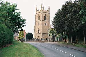 English: Photo of St. Wilfrid's Church in Kibw...